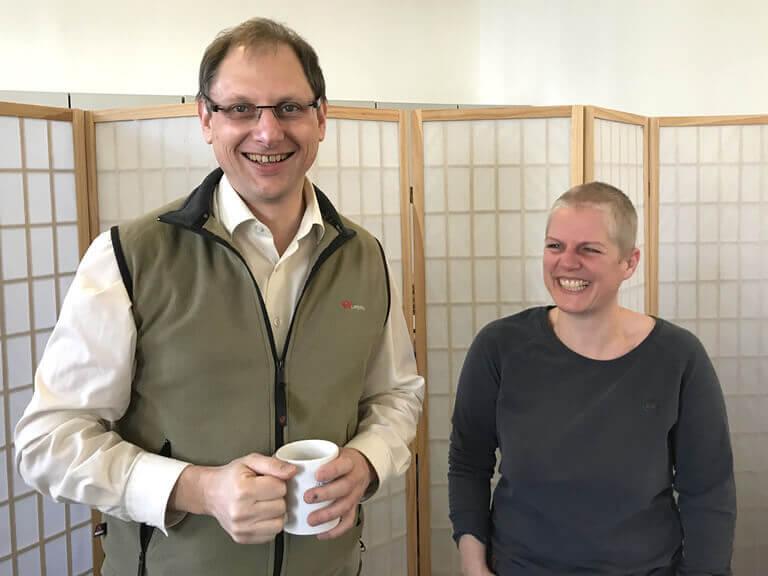 Michael Löhlein und Ramona Hoffmann - Mandelblütenhof