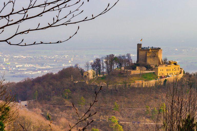 Hambacher Schloss im Winter