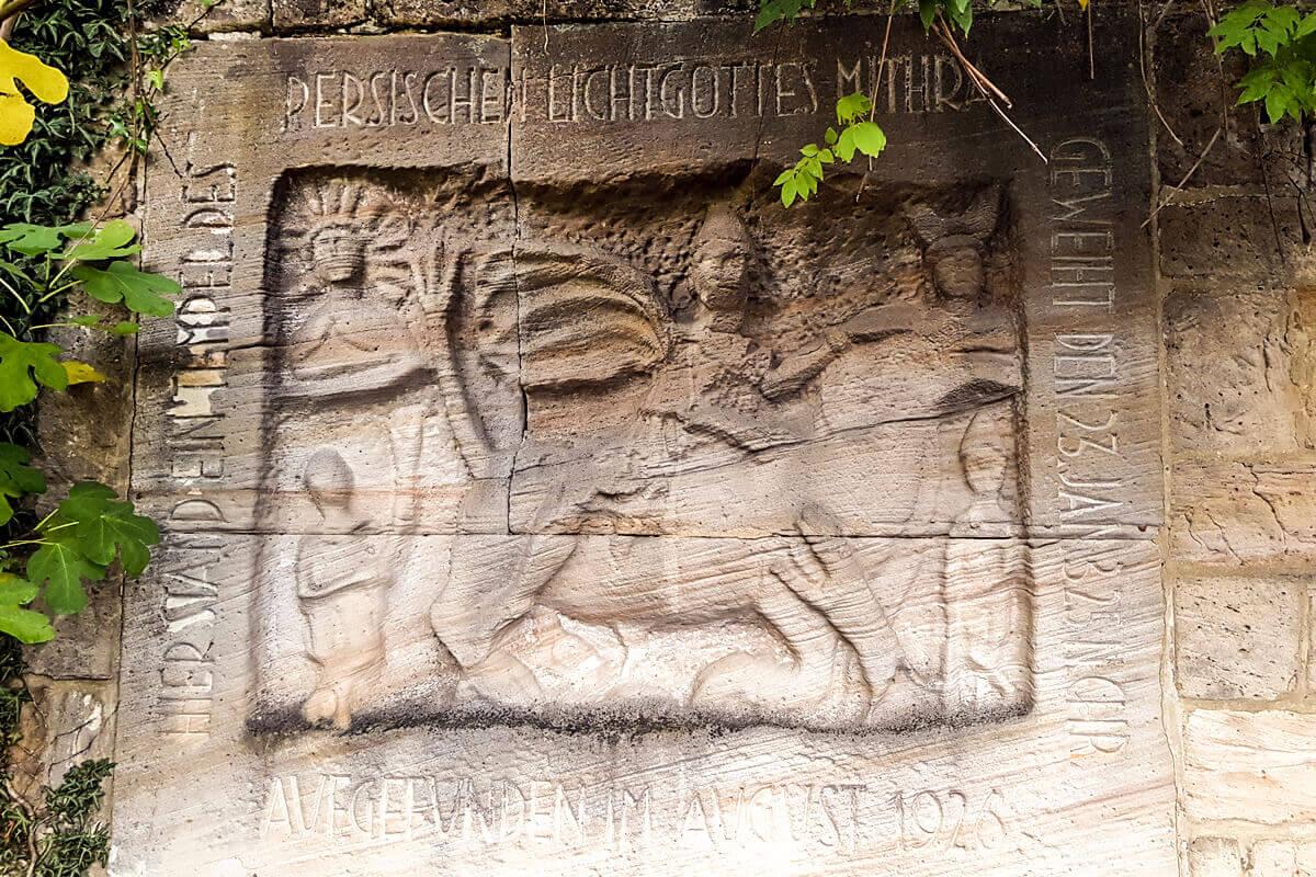 Mithras-Denkmal in Gimmeldingen