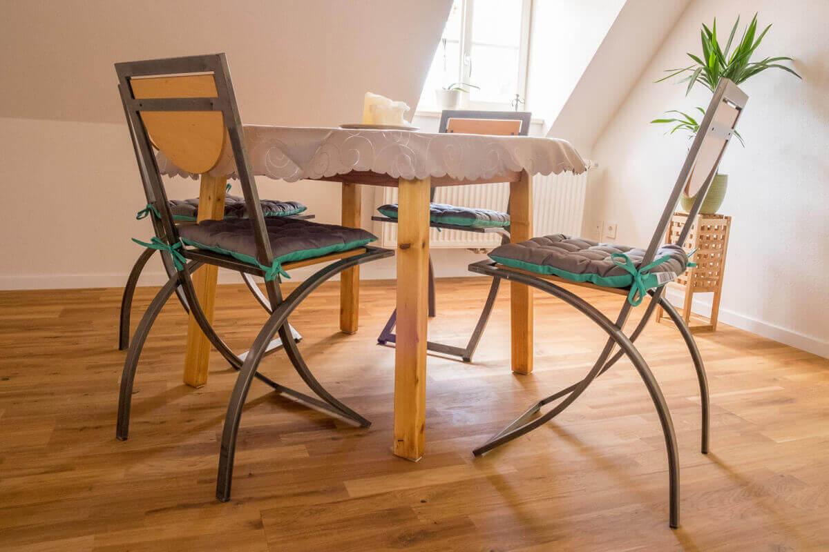 Küche mit Esszimmer Mandelblütenhof Neustadt Gimmeldingen